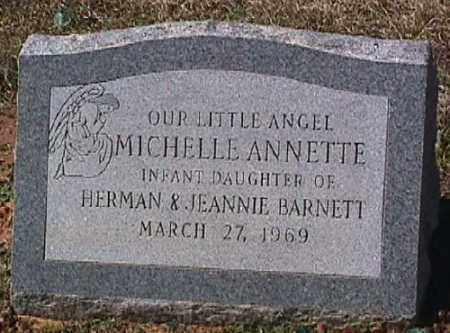 BARNETT, MICHELLE ANNETTE - Ashley County, Arkansas   MICHELLE ANNETTE BARNETT - Arkansas Gravestone Photos