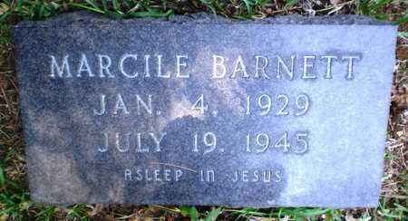 BARNETT, MARCILE - Ashley County, Arkansas | MARCILE BARNETT - Arkansas Gravestone Photos
