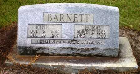 LOCHALA BARNETT, MINNIE - Ashley County, Arkansas | MINNIE LOCHALA BARNETT - Arkansas Gravestone Photos