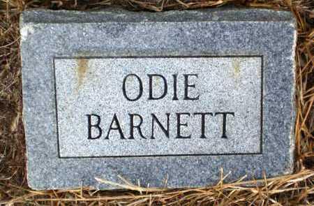 BARNETT, ODIE - Ashley County, Arkansas   ODIE BARNETT - Arkansas Gravestone Photos