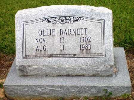 BARNETT, OLLIE - Ashley County, Arkansas | OLLIE BARNETT - Arkansas Gravestone Photos