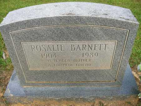 BARNETT, ANGIE ROSALIE - Ashley County, Arkansas | ANGIE ROSALIE BARNETT - Arkansas Gravestone Photos