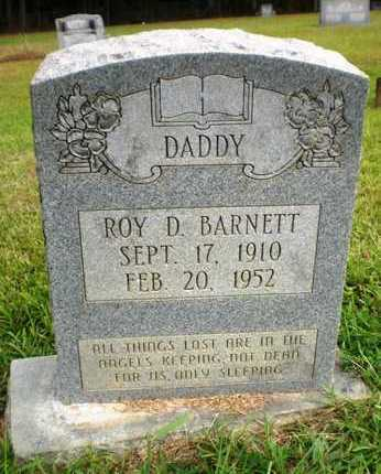 BARNETT, ROY D - Ashley County, Arkansas | ROY D BARNETT - Arkansas Gravestone Photos