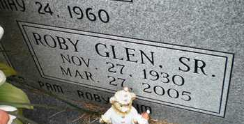 BARNETT, SR, ROBY GLEN (CLOSE UP) - Ashley County, Arkansas | ROBY GLEN (CLOSE UP) BARNETT, SR - Arkansas Gravestone Photos