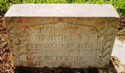 BARNETT, TIMOTHY - Ashley County, Arkansas | TIMOTHY BARNETT - Arkansas Gravestone Photos