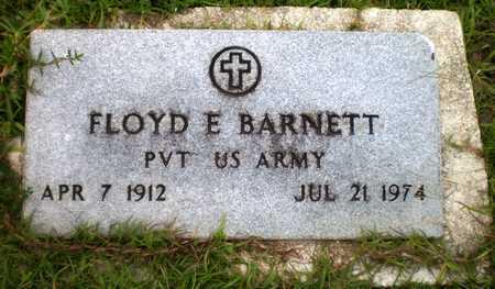 BARNETT (VETERAN), FLOYD E - Ashley County, Arkansas | FLOYD E BARNETT (VETERAN) - Arkansas Gravestone Photos