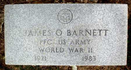 BARNETT (VETERAN WWII), JAMES O - Ashley County, Arkansas   JAMES O BARNETT (VETERAN WWII) - Arkansas Gravestone Photos