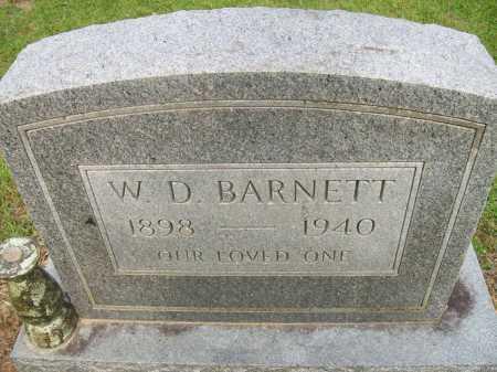 BARNETT, WILLIAM DEWEY - Ashley County, Arkansas | WILLIAM DEWEY BARNETT - Arkansas Gravestone Photos
