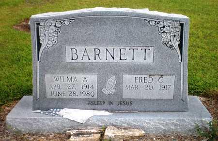 BARNETT, FRED C - Ashley County, Arkansas | FRED C BARNETT - Arkansas Gravestone Photos