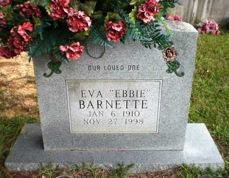 "BARNETTE, EVA ""EBBIE"" - Ashley County, Arkansas 