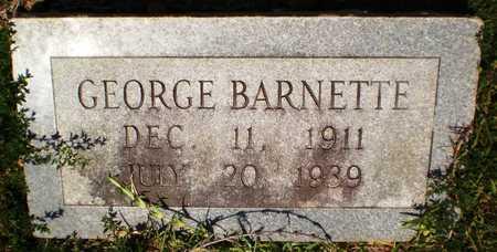 BARNETTE, GEORGE - Ashley County, Arkansas | GEORGE BARNETTE - Arkansas Gravestone Photos