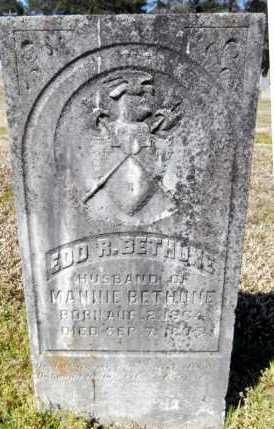 BETHUNE, EDD R - Ashley County, Arkansas   EDD R BETHUNE - Arkansas Gravestone Photos