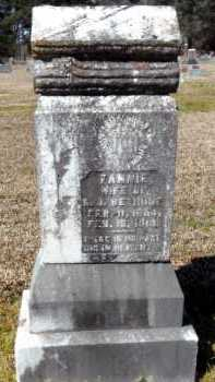 BETHUNE, FANNIE - Ashley County, Arkansas | FANNIE BETHUNE - Arkansas Gravestone Photos