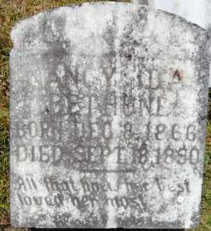 BETHUNE, NANCY IDA - Ashley County, Arkansas | NANCY IDA BETHUNE - Arkansas Gravestone Photos