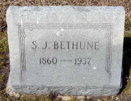 BETHUNE, SAMUEL JAMES - Ashley County, Arkansas | SAMUEL JAMES BETHUNE - Arkansas Gravestone Photos