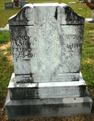 DOSS BINGHAM, NANCY A - Ashley County, Arkansas | NANCY A DOSS BINGHAM - Arkansas Gravestone Photos