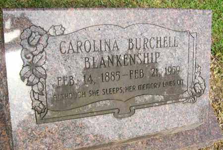 BURCHELL BLANKENSHIP, CAROLINE - Ashley County, Arkansas | CAROLINE BURCHELL BLANKENSHIP - Arkansas Gravestone Photos