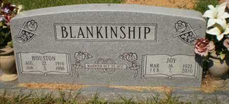 BLANKINSHIP, HOUSTON - Ashley County, Arkansas | HOUSTON BLANKINSHIP - Arkansas Gravestone Photos