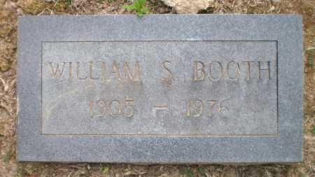 BOOTH, WILLIAM S - Ashley County, Arkansas | WILLIAM S BOOTH - Arkansas Gravestone Photos