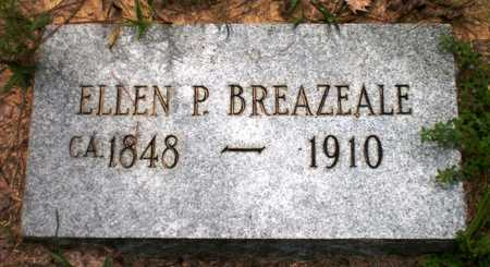 BREAZEALE, ELLEN P - Ashley County, Arkansas | ELLEN P BREAZEALE - Arkansas Gravestone Photos