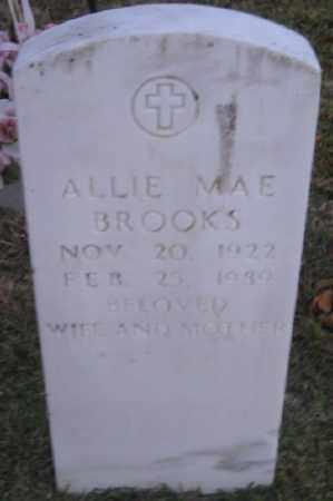 MORRIS BROOKS, ALLIE MAE - Ashley County, Arkansas | ALLIE MAE MORRIS BROOKS - Arkansas Gravestone Photos