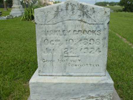 BROOKS, BARKLEY - Ashley County, Arkansas   BARKLEY BROOKS - Arkansas Gravestone Photos