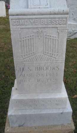 BROOKS, H. S. - Ashley County, Arkansas   H. S. BROOKS - Arkansas Gravestone Photos