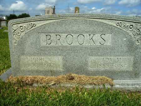 BROOKS, JOHN W - Ashley County, Arkansas | JOHN W BROOKS - Arkansas Gravestone Photos