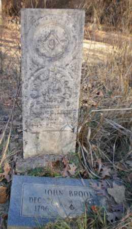 BROOKS, JOHN - Ashley County, Arkansas | JOHN BROOKS - Arkansas Gravestone Photos
