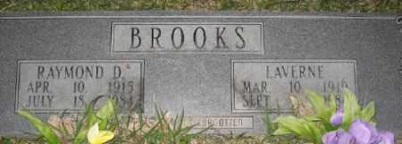 BROOKS, RAYMOND D. - Ashley County, Arkansas | RAYMOND D. BROOKS - Arkansas Gravestone Photos