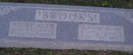 BROOKS, GRACIE RUTH - Ashley County, Arkansas | GRACIE RUTH BROOKS - Arkansas Gravestone Photos