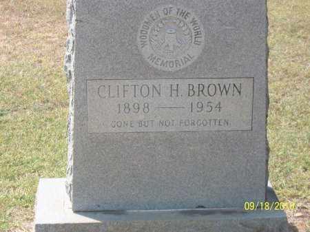 BROWN, CLIFTON - Ashley County, Arkansas | CLIFTON BROWN - Arkansas Gravestone Photos