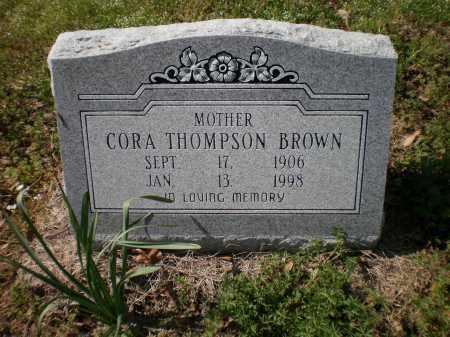 BROWN, CORA - Ashley County, Arkansas   CORA BROWN - Arkansas Gravestone Photos