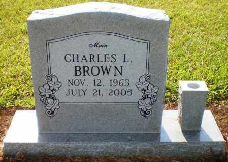 "BROWN, CHARLES LAVELL ""MAIN"" - Ashley County, Arkansas 