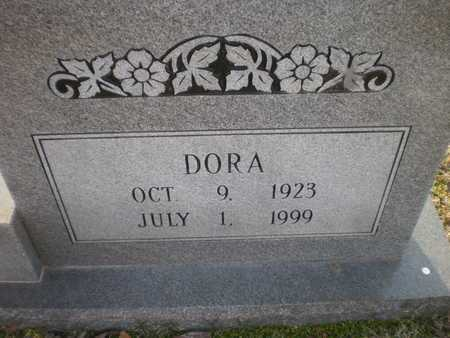 BROWN, DORA (CLOSE UP) - Ashley County, Arkansas | DORA (CLOSE UP) BROWN - Arkansas Gravestone Photos