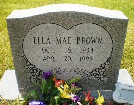 BROWN, ELLA MAE - Ashley County, Arkansas | ELLA MAE BROWN - Arkansas Gravestone Photos