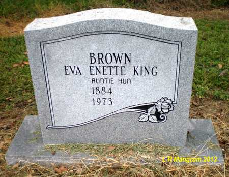BROWN, EVA ENETTE - Ashley County, Arkansas | EVA ENETTE BROWN - Arkansas Gravestone Photos
