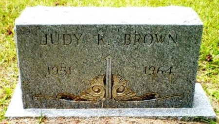 BROWN, JUDY K. - Ashley County, Arkansas | JUDY K. BROWN - Arkansas Gravestone Photos