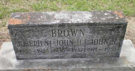 BROWN, JOHN H - Ashley County, Arkansas | JOHN H BROWN - Arkansas Gravestone Photos