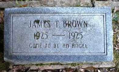 BROWN, JAMES T - Ashley County, Arkansas | JAMES T BROWN - Arkansas Gravestone Photos