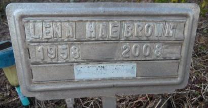BROWN, LENA MAE - Ashley County, Arkansas   LENA MAE BROWN - Arkansas Gravestone Photos