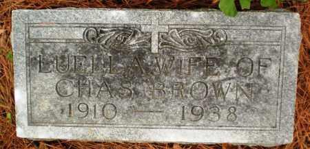 BROWN, LUELLA - Ashley County, Arkansas   LUELLA BROWN - Arkansas Gravestone Photos