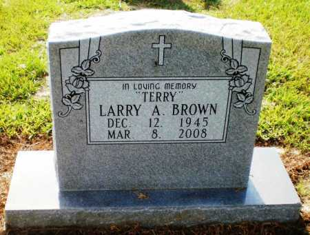 "BROWN, LARRY ALLEN ""TERRY"" (OBIT) - Ashley County, Arkansas 