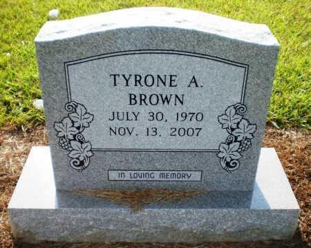 BROWN, TYRONE A (OBIT) - Ashley County, Arkansas | TYRONE A (OBIT) BROWN - Arkansas Gravestone Photos