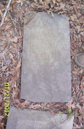 BROWN, UNKNOWN - Ashley County, Arkansas   UNKNOWN BROWN - Arkansas Gravestone Photos