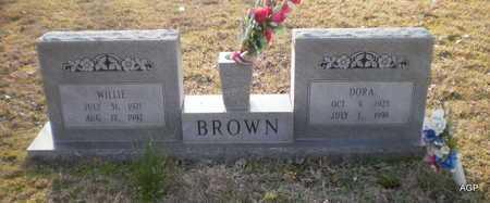 BROWN, DORA - Ashley County, Arkansas | DORA BROWN - Arkansas Gravestone Photos
