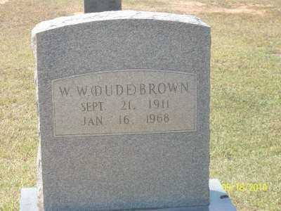 "BROWN, W W ""DUDE"" - Ashley County, Arkansas 