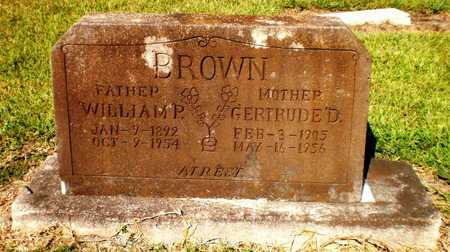 DINGLER BROWN, GERTRUDE - Ashley County, Arkansas | GERTRUDE DINGLER BROWN - Arkansas Gravestone Photos