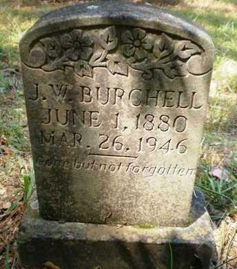 BURCHELL, J W - Ashley County, Arkansas   J W BURCHELL - Arkansas Gravestone Photos