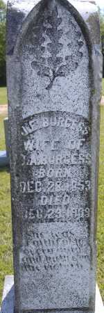 BURGESS, J E - Ashley County, Arkansas | J E BURGESS - Arkansas Gravestone Photos